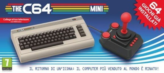 Arriva il nuovo Commodore 64 Mini
