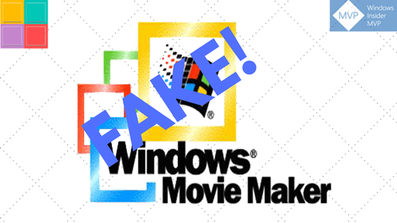 La truffa di Windows Movie Maker si diffonde massivamente a causa dell'alta valutazione di Google