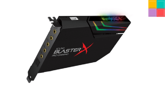 Sound BlasterX AE-5: quando una X serve a fare un reboot
