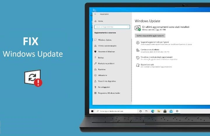 FIX: Come resettare Windows Update in caso di problemi