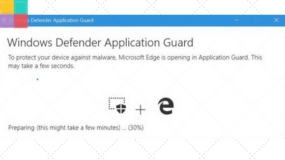 Come attivare Windows Defender Application Guard in MS Edge