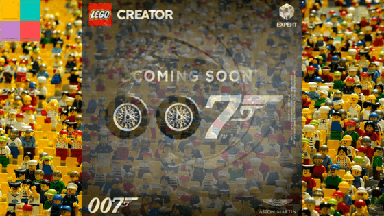 Lego e James Bond