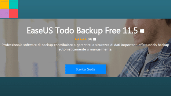 Recensione di EaseUS Backup Software 11.5