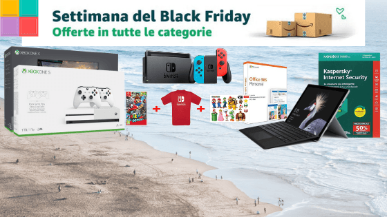 Black Friday Amazon: Console e Prodotti Microsoft