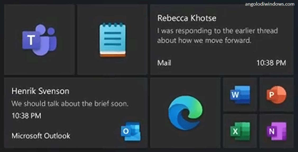 Il nuovo menu Start di Windows 10 senza Live Tile presto in arrivo?