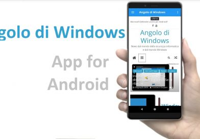L'app Angolo di Windows finalmente disponibile per Android.
