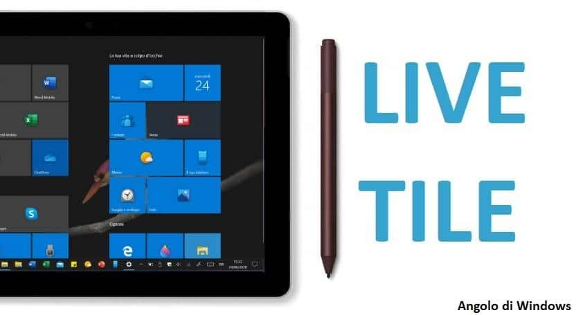 Veramente Windows senza Live Tile?