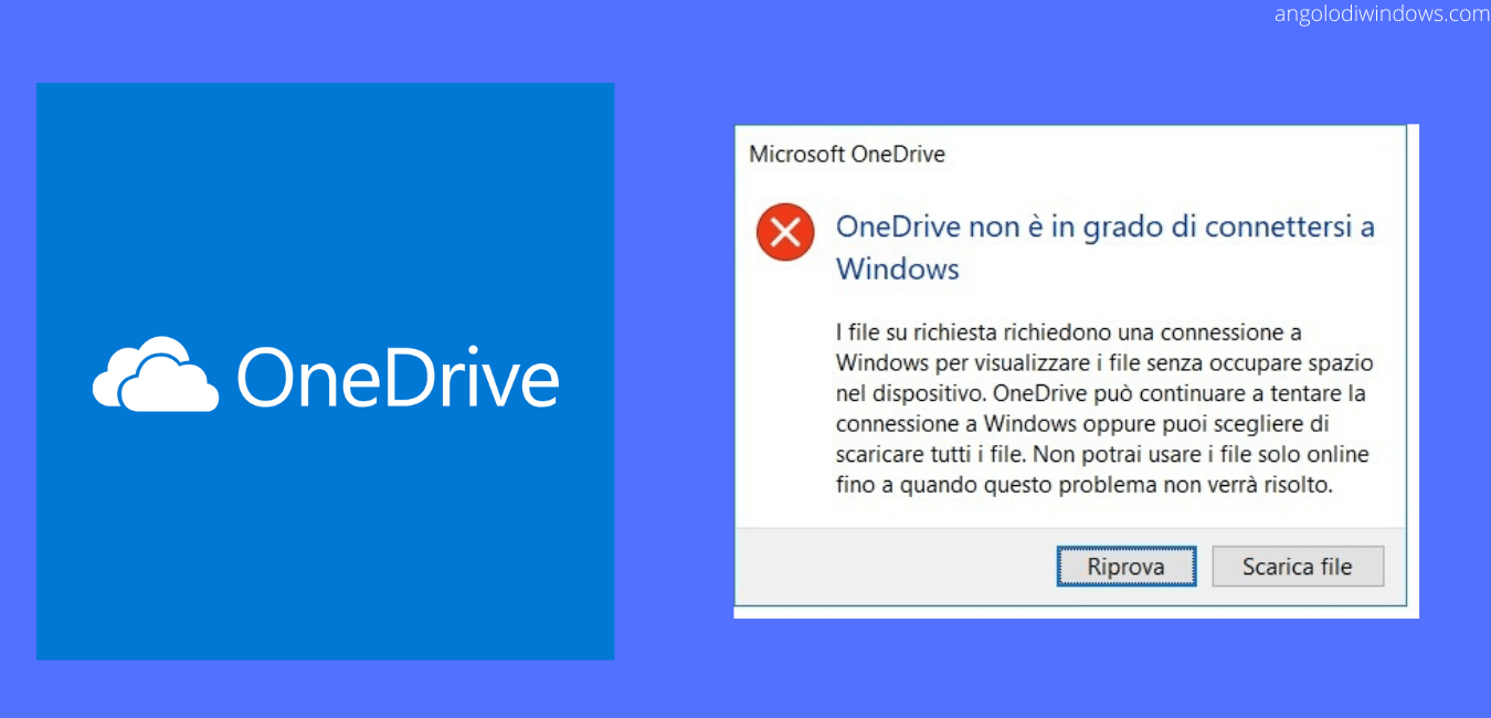 FIX: OneDrive non riesce a connettersi a Windows (Versione 2004)