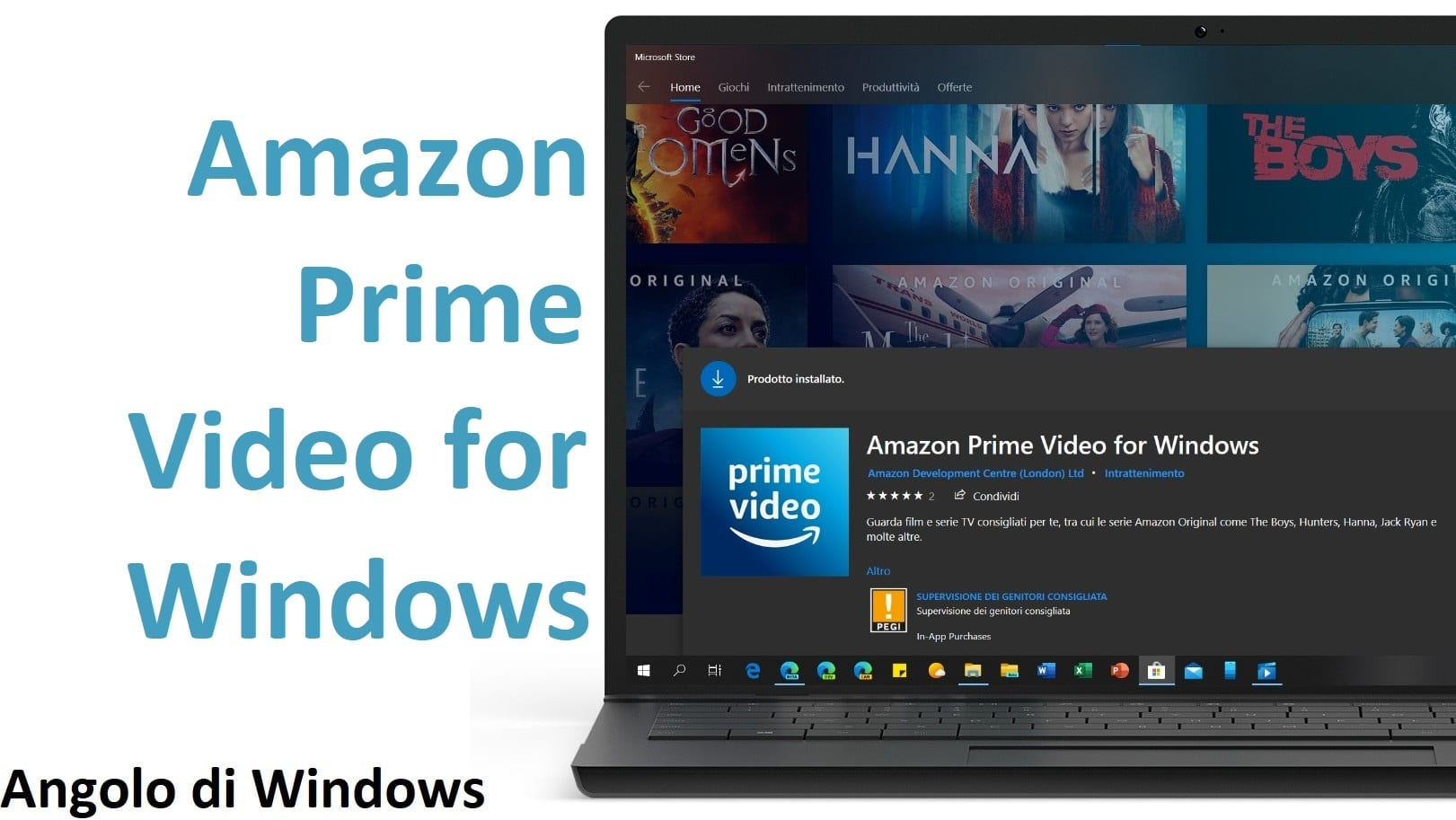 Amazon Prime Video for Windows 10