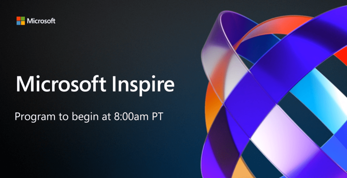 Microsoft Inspire in streaming