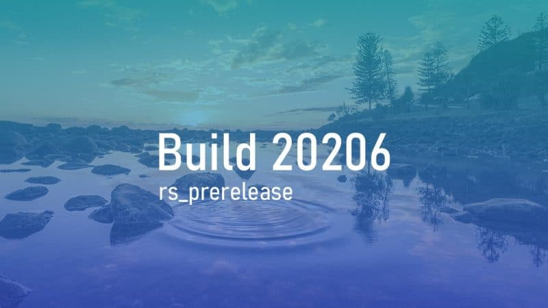 Le ultime novità di Windows 10 Insider Preview build 20206