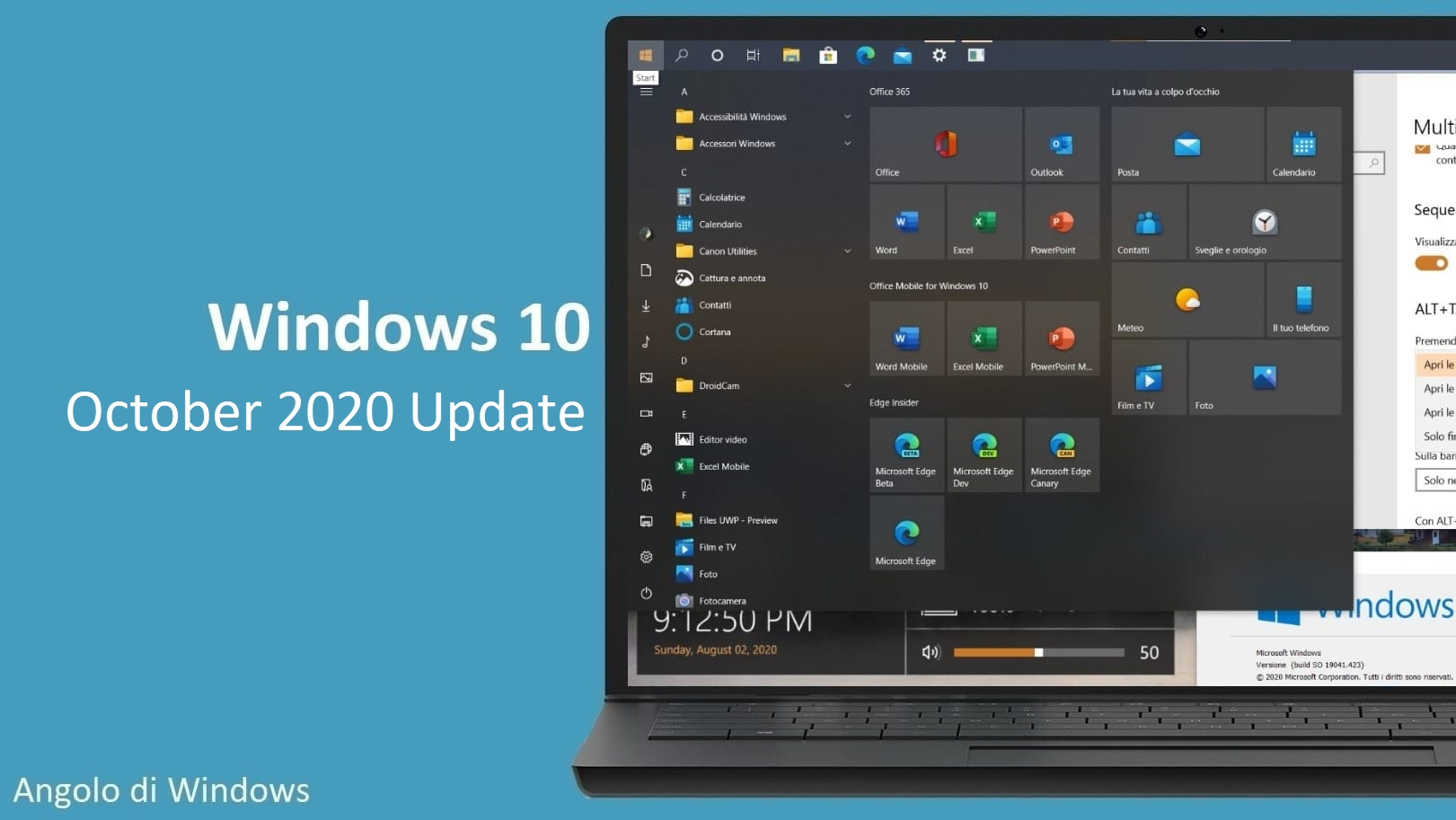Come aggiornare subito a Windows 10 October 2020 Update