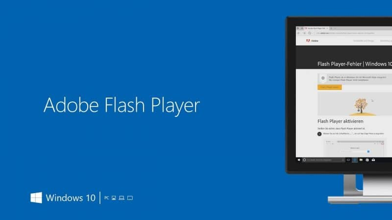 Flash Player è già stato rimosso da Windows 10 Insider