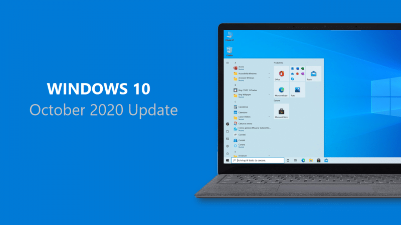 Microsoft supporterà le edizioni Enterprise ed Education di Windows 10 ottobre 2020 Update per 30 mesi